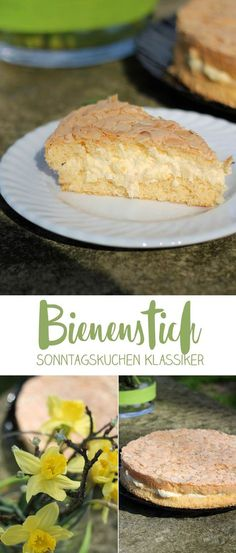 Bienenstich - einfacher klassischer Sonntagskuchen - einfach backen - schnelle Rezepte #rezepte #tortenbacken #backen