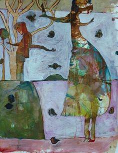 """Saatchi Art Artist Ilya Volykhine; Painting, """"Kotukutuku Dance, 2015"""" #art"""