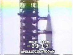 Despegue del Apolo 11 desde Cabo Kennedy, Florida el 16 de julio de 1969, 9:26 AM EDT. T-menos 00:5:59 y contando.
