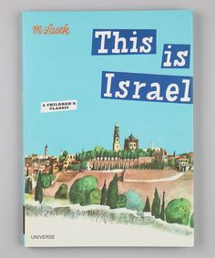 Take a look at this This is Israel Hardcover by Random House on #zulily today!