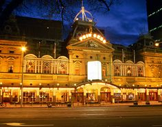 Princess Theatre , Melbourne, Australia.  Is said to be haunted.
