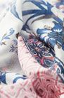 MODAL FOULARD WITH A BRANCH PRINT - Scarves - Accessories - WOMEN - United Kingdom