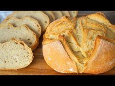 PAN CASERO sencillo. ¡Qué fácil es hacer TU PRIMER PAN🥖🍞 ! (SIN pyrex) - YouTube Artisan Bread Recipes, Yeast Bread Recipes, Pan Bread, Bread Baking, Cooking Chef, Cooking Recipes, Baked Salmon Recipes, Pan Dulce, Empanadas