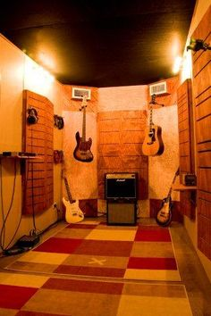 Shipping Container Recording Studio (follow link to forum post for more).