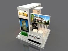 Amco Booth by Hossam Khattab, via Behance