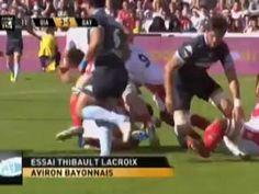 Résumé en vidéo 7ème journée de rugby  TOP 14