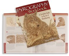 Pyrography Workbook - Woodworking