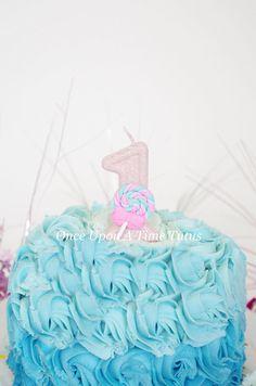 Pink Glitter Birthday Candle