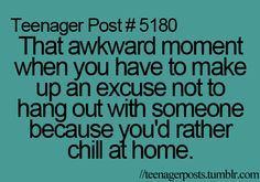 yep, I have definitely done this