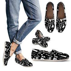 Dental Pattern Women's Casual Shoes
