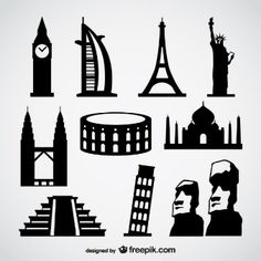 iconic buildings skyline - Google Search