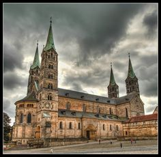 Bamberg, Germany - Dom, Cathedral - completed in the 13th century #Romanesque
