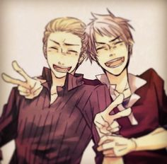 Germany and Prussia - Hetalia                                                                                                                                                                                 More
