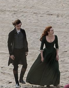 Poldark Filming: Josh Whitehouse and Eleanor Tomlinson Poldark Tv Series, Poldark 2015, Demelza Poldark, Bbc Tv Series, Ross Poldark, Historical Tv Series, Historical Photos, Beautiful Person, Gorgeous Men