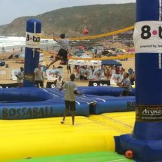 Also in #southafrica they are playing #Bossaball - powered by #Avyna #trampolines - Happy #jumping - Let's share the fun ➡➡ #trampolinefun #funtramp #trampoline  Quality Play
