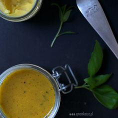 Ginger cream soup with fresh herbs....yummy!