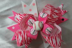 Pink girly softball
