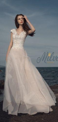 Milva Bridal Wedding Dresses 2017 Edge / http://www.deerpearlflowers.com/milva-wedding-dresses/10/