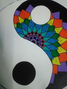 Mandala de Ying Yang