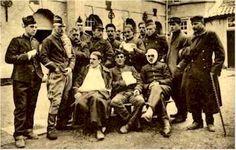 Wounded Belgian at Middelburg 1914