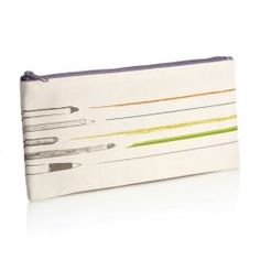Drawing Canvas Pencil Pouch (4 x 9) | Pratt Institute of Design for Barnes & Noble $6.95