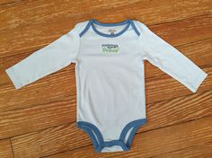"""First Moments """"mommy's little prince"""" long sleeve onesie"""
