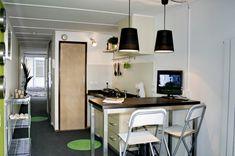 #container home #container house #container unit #kitchen
