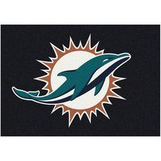 "Miami Dolphins 46"" x 64"" Spirit Rug - $119.99"