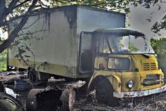 Abandoned Cars, Abandoned Vehicles, Big Tractors, Rust In Peace, Bus Coach, Busses, Automobile, Barn Finds, Classic Trucks