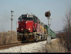 RailPictures.Net Photo: 3815 Central Oregon & Pacific Railroad EMD GP38-2 at Watseka, Illinois by Adam Robillard