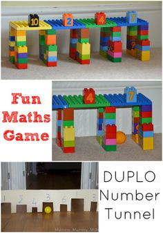 Fun early numeracy game #DUPLO #Math #Game