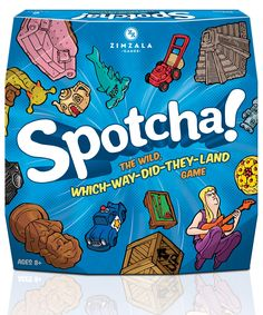 Spotcha Board Game