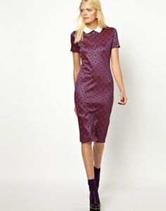 Ostwald Helgason Jacquard Knitted Dress #refinery29