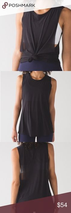 Lululemon Get Low Muscle Tank NWT/Black 8,10 avail Lululemon Get Low Muscle Tank NWT/Black 8,10 avail. ✅ALWAYS OPEN TO OFFERS-unless marked firm on price ✅OFFERS SHOULD BE MADE THROUGH POSH OFFER FEATURE ✅PRICES NOT DISCUSSED IN COMMENTS  ✅FEEL FREE TO ASK ANY QUESTIONS  ✅Photos from the Internet could vary slightly from the item that is being shipped  ❎NO TRADES lululemon athletica Tops