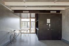 H Arquitects & Data AE - The pre-fab ETSAV student housing, Barcelona 2012