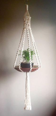Planta de macramé suspensión Elliott colgante