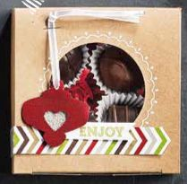 One thing I enjoy giving at Christmas is homemade cookies! This catalog has super cute gift boxes with see-thru lids. I have fun decorating the boxes too. Makes the receiver know they are extra special!  Take a peek and SHARE with a friend. Thanks!  http://straightfs.typepad.com/my-blog/2013/08/stampin-up-holiday-catalog-is-here.html