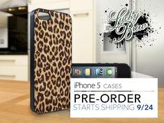 iPhone 5 Hard Case - Leopard Print Full - Phone Cover IP5. $17.88, via Etsy.