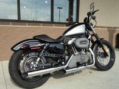 Harley Davidson 48 Forty-Eight Sportster Motorcycle #harleynightster