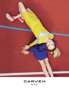 Carven Spring 2012 Campaign