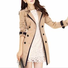 Belted Wrest Women Trench Coat | Daisy Dress for Less | Women's Dresses & Accessories