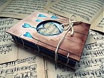handmade bookbinding / paint book / Papiernictvo - ..dance with me.. - 2484634