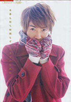 """we-re-not-in-kansas-anymore: """" [ザテレビジョン] Aiba's part """" Loving U, Boy Bands, Kansas, Singer, Guys, Candy, Fashion, Sweet, Toffee"""