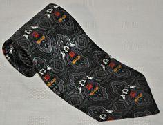 Walt Disney Mickey Mouse Mens Neck Tie Made in Canada #Disneytie #mickeymousetie