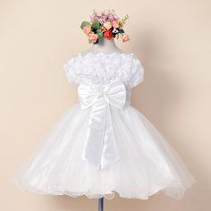 29.78$  Buy here - https://alitems.com/g/1e8d114494b01f4c715516525dc3e8/?i=5&ulp=https%3A%2F%2Fwww.aliexpress.com%2Fitem%2FBaby-girl-Strapless-Princess-dress-with-Bow-Vestido-saia-Ball-Gown-vestidos-infantis-Girls-Chiffon-dresses%2F32415179242.html - Baby girl Strapless Princess dress with Bow Vestido saia Ball Gown vestidos infantis Girls Chiffon dresses Kids Wedding clothes