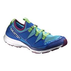 The Salomon Crossamphibian shoes are perfect both in the water or just kicking around, with stretchy mesh uppers that dry quickly and running bases to keep your feet cushioned and supported. Barefoot Shoes Mens, Barefoot Running Shoes, Sketchers Shoes Women, Fashion Sandals, Water Shoes, Hiking Shoes, Running Sneakers, Blue Shoes, Sandals