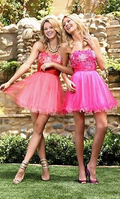 Shop Scala prom dresses and cocktail party dresses at PromGirl. Short prom dresses with sequins and semi-formal homecoming dresses by Scala. Homecoming Poses, Prom Poses, Homecoming Dresses, Homecoming 2014, Dance Poses, Tulle Prom Dress, Bridal Dresses, Strapless Dress, Party Dress
