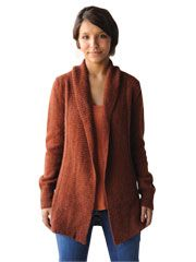 Autumnal Cardigan Knit Pattern from www.AnniesCatalog.com. Download or print, $5.99. Order here: http://www.anniescatalog.com/detail.html?prod_id=90450