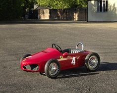 A Ferrari F156 'Sharknose' pedal car,