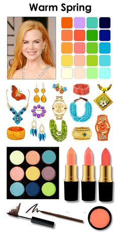 "Képtalálat a következőre: ""warm spring lipstick colours"" Bright Spring, Clear Spring, Warm Spring, Spring Color Palette, Spring Colors, Color Type, Seasonal Color Analysis, Color Me Beautiful, Spring Makeup"